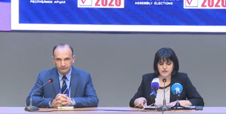 Artsakh electoral board presents preliminary results of general elections